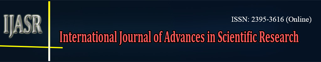 International Journal of Advances in Scientific Research