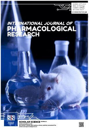 International Journal of Pharmacological Research