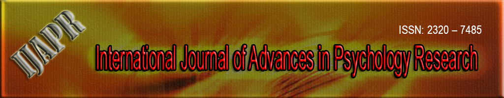 International Journal of Advances in Psychology Research